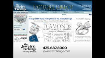 The Jewelry Exchange TV Spot, 'Solitaires Set While You Watch' - Thumbnail 10