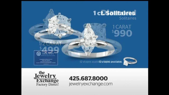 The Jewelry Exchange TV Spot, 'Solitaires Set While You Watch' - Thumbnail 4