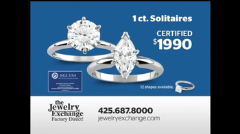The Jewelry Exchange TV Spot, 'Solitaires Set While You Watch' - Thumbnail 5