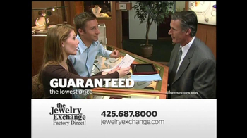 The Jewelry Exchange TV Spot, 'Solitaires Set While You Watch' - Thumbnail 7