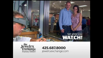 The Jewelry Exchange TV Spot, 'Solitaires Set While You Watch' - Thumbnail 9
