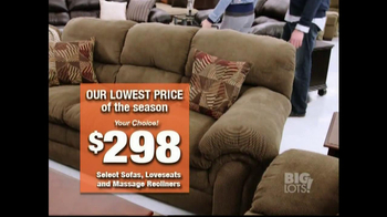 Big Lots President's Day Event TV Spot