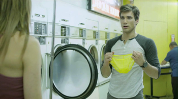 Speed Stick 2013 Super Bowl TV Spot, 'Unattended Laundry'