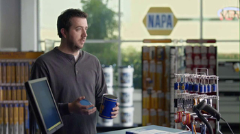 NAPA 2013 Super Bowl TV Spot, 'Know How' Feat. Patrick Warburton - Thumbnail 8