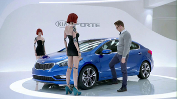 Kia Forte 2013 Super Bowl TV Spot, 'Robot' - 1037 commercial airings