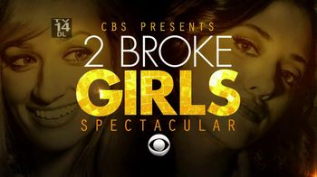 CBS 2013 Super Bowl Promo: 2 Broke Girls Super Bowl Spectacular