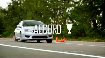 Honda Accord 2013 Super Bowl TV Spot, 'Competitive Test Drive'  - Thumbnail 9