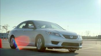 Honda Accord 2013 Super Bowl TV Spot, 'Competitive Test Drive'  - Thumbnail 5