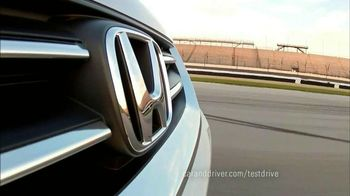 Honda Accord 2013 Super Bowl TV Spot, 'Competitive Test Drive'  - Thumbnail 7