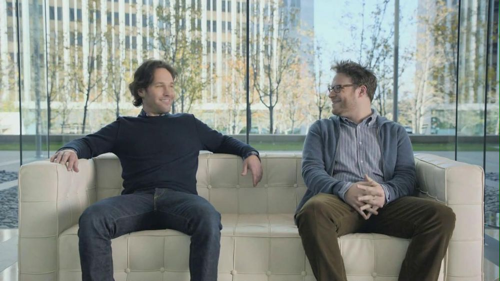 Samsung Mobile: Seth Rogan, Paul Rudd, Lebron James