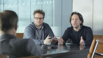 Samsung Super Bowl 2013 TV Spot, 'Talking Babies' Ft. Seth Rogen, Paul Rudd - Thumbnail 7