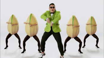 Wonderful Pistachios 2013 Super Bowl TV Spot Featuring PSY - Thumbnail 3