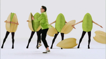 Wonderful Pistachios 2013 Super Bowl TV Spot Featuring PSY - Thumbnail 8