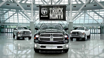 Ram Truck Month TV Spot, 'All We Make is Trucks' - Thumbnail 8