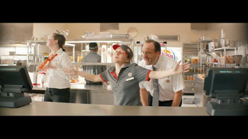 Burger King Whopper Jr. TV Spot, \'Dancing\'
