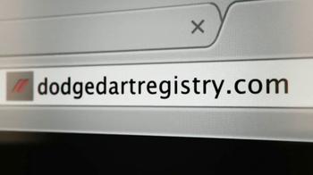 Dodge Dart Registry TV Spot, 'How to Change Buying Cars Forever' - Thumbnail 5