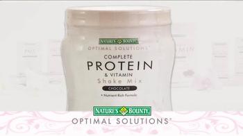 Nature's Bounty Complete Protein & Vitamin TV Spot - Thumbnail 5