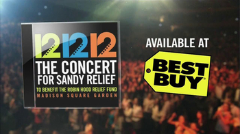 12 12 12 The Concert for Sandy Relief CD TV Spot - Thumbnail 7