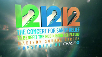12 12 12 The Concert for Sandy Relief CD TV Spot - Thumbnail 6