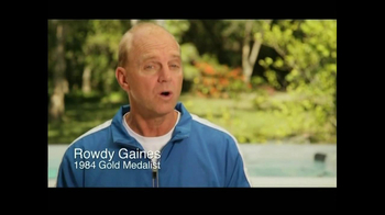 The Endless Pool TV Spot Featuring Rowdy Gaines