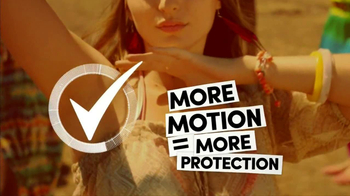 Degree Deodorants TV Spot, 'More Motion = More Protection: Dancing' - Thumbnail 4