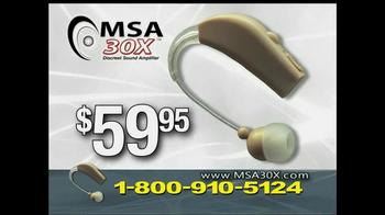 MSA 30X TV Spot - Thumbnail 8