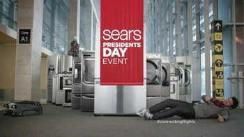 Sears Presidents' Day Event TV Spot, 'Airport: Connecting Flights' - Thumbnail 5