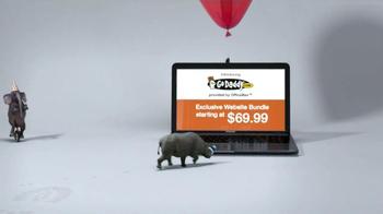 Office Max TV Spot, 'GoDaddy Website Bundle' - Thumbnail 2