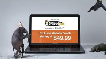 Office Max TV Spot, 'GoDaddy Website Bundle' - Thumbnail 6