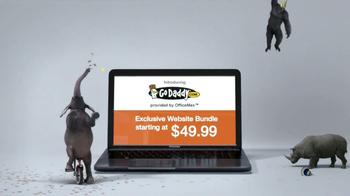 Office Max TV Spot, 'GoDaddy Website Bundle' - Thumbnail 8