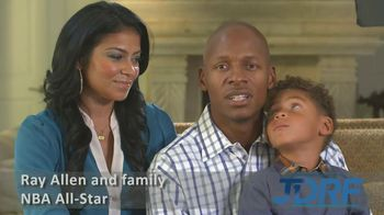 JDRF TV Spot Featuring Ray Allen
