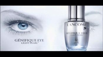 Lancôme Genifique Eye Light-Pearl TV Spot, 'Eye Transformation'