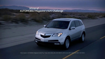 2013 Acura MDX TV Spot, 'Automobile Magazine'