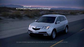 2013 Acura MDX TV Spot, 'Automobile Magazine'