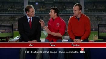 Papa John's Super Bowl XLVII Coin Toss Experience TV Spot Feat. Jim Nantz - Thumbnail 2