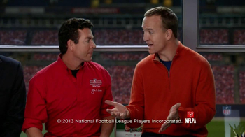 Papa John's Super Bowl XLVII Coin Toss Experience TV Spot Feat. Jim Nantz - Thumbnail 3