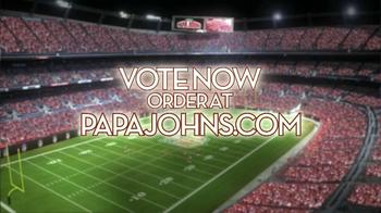 Papa John's Super Bowl XLVII Coin Toss Experience TV Spot Feat. Jim Nantz - Thumbnail 5