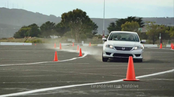 2013 Honda Accord LX TV Spot, 'Competitive Test Drive' - Thumbnail 7