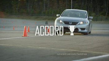 2013 Honda Accord LX TV Spot, 'Competitive Test Drive' - Thumbnail 9