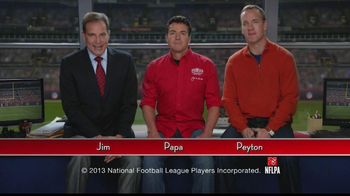 Papa John's TV Spot, 'Heads or Tails' Featuring Peyton Manning - 665 commercial airings