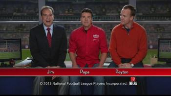 Papa John's TV Spot, 'Heads or Tails' Featuring Peyton Manning - Thumbnail 2