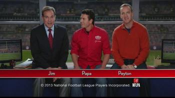 Papa John's TV Spot, 'Heads or Tails' Featuring Peyton Manning - Thumbnail 3