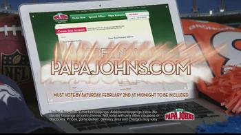 Papa John's TV Spot, 'Heads or Tails' Featuring Peyton Manning - Thumbnail 5