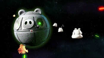 Angry Bird: Star Wars Millennium Falcon Bounce Game TV Spot, 'Destroy Evil' - Thumbnail 1