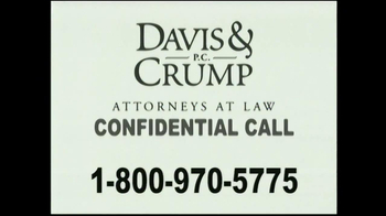 Davis & Crump, P.C. TV Spot, 'Important News: Dialysis Patients' - Thumbnail 5