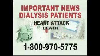 Davis & Crump, P.C. TV Spot, 'Important News: Dialysis Patients'