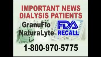 Davis & Crump, P.C. TV Spot, 'Important News: Dialysis Patients' - Thumbnail 2