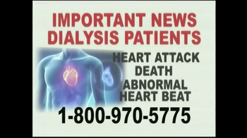 Davis & Crump, P.C. TV Spot, 'Important News: Dialysis Patients' - Thumbnail 3