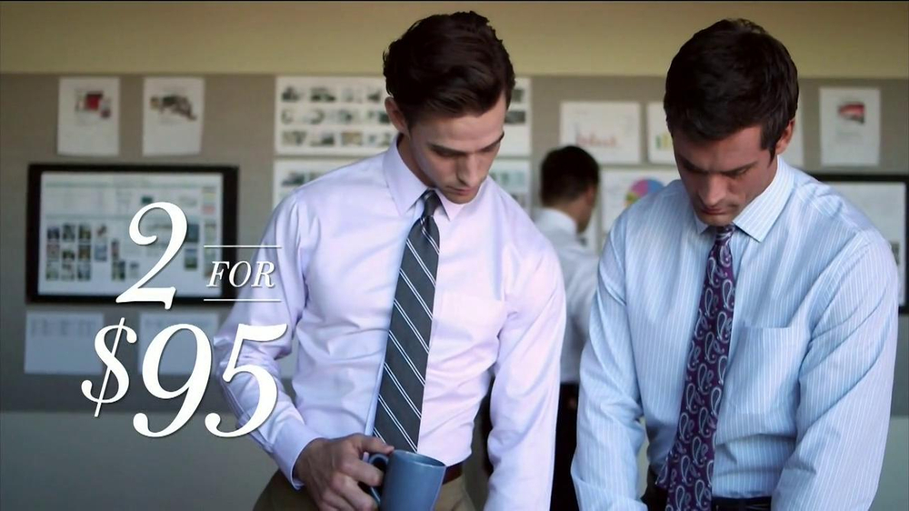 e2dd0094d673 JoS. A. Bank Wrinkle-Free Traveler Dress Shirts TV Commercial, 'Office  Hours'