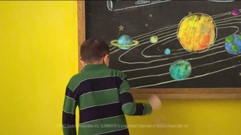 Subway FebruANY 2013 TV Spot, 'Planets' - Thumbnail 3